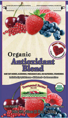 Hepatitis A cases have been linked to Townsend Farms Organic Anti-Oxidant Blend.